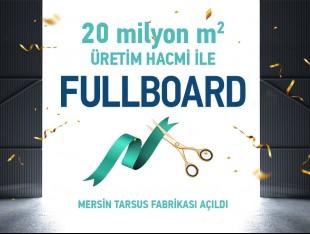 Yılın Lider Markası Fullboard'dan Bir Fabrika Daha!